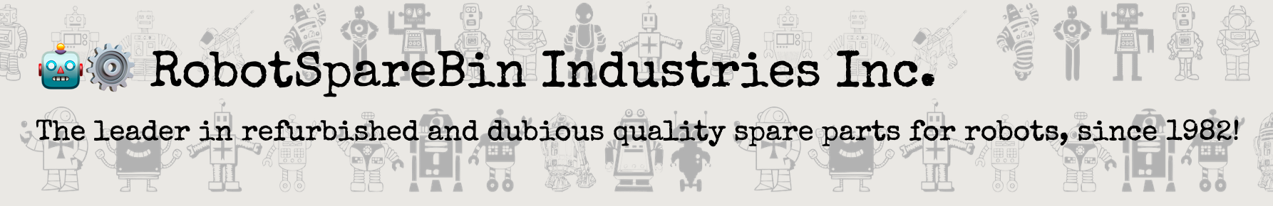 RobotSpareBin Industries Inc.
